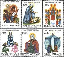Vatikanstadt 940-945 (complete Issue) Unmounted Mint / Never Hinged 1988 Marian Year - Vatican