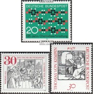 FRD (FR.Germany) 658,659,664,669,674 (complete.issue.) Fine Used / Cancelled 1971 Empire, Ebert, Chemistry, Worms, Kempe - Gebraucht