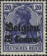 Dt. Landespost In Belgien 4I Usato 1914 Germania - Deutschland