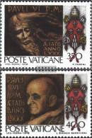 Vatikanstadt 718-719 (complete Issue) Unmounted Mint / Never Hinged 1978 Pope Paul VI. - Unused Stamps