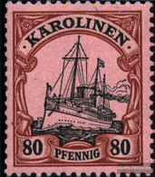 Carolines (German.Colony) 15 With Hinge 1901 Ship Imperial Yacht Hohenzollern - Colony: Caroline Islands
