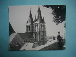 PHOTOGRAPHIE GRAND FORMAT  BLOIS  -  41  -  Pointes De La Cathédrale  -  1966  -  12,3  X 14,6  Cms  -  Loi Et Cher - Lieux