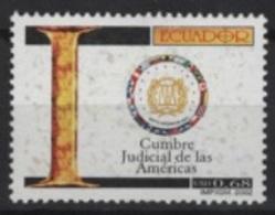 Ecuador (2002) Yv. 1622  /  Justice - Law - Ecuador