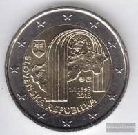 Slovakia 2018 Stgl./unzirkuliert Reprint 1 Million. Stgl./unzirkuliert 2018 2 Euro 25 Years Republic - Slovakia