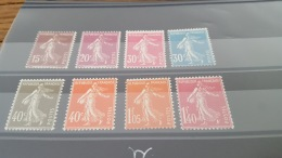 LOT 403009 TIMBRE DE FRANCE NEUF** N°189 A 196 VALEUR 46 EUROS - France