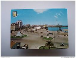 Postcard & Stamp 1960 Years Cadiz Andalucia Spain España  Espana Espagne Harbour Partial View - Cádiz
