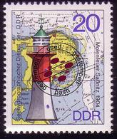 2047 Leuchttürme 20 Pf O - DDR