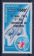 GABON - PA 173 CONCORDE SURCHARGE 1000 F NEUF** MNH LUXE - Gabon