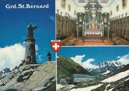 Col Et Hospice Du Grand - St - Bernard - Valais. Switzerland. # 07513 - VS Valais