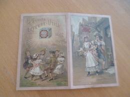 Calendrier Pub Publicitaire Biscuits Lefevre Utile Désolidarisé Scotch - Calendars