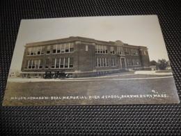 Amérique America Amerika  :   Major Howard High School , Shrewsbury  -  Photo Card - Etats-Unis