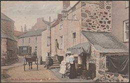 On The Quay, Near The Sloop Inn, St Ives, Cornwall, 1907 - Stengel Postcard - St.Ives