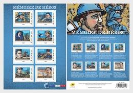 Frankrijk / France - MNH / Postfris - Sheet Oorlogshelden 2018 - France