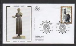 DF / FDC DU TIMBRE DE SERVICE 120 AURIGE DE DELPHE - Lettres & Documents
