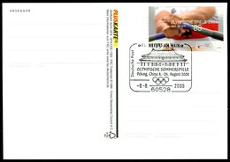41056) BRD - Beleg Mi 2652 - SoST 60528 FRANKFURT AM MAIN Vom 08.08.2008 - Olympische Sommerspiele 08, Peking - BRD