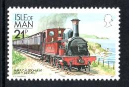 ISLE OF MAN 1991 Definitives/Manx Railways & Tramways 21p: Single Stamp UM/MNH - Isola Di Man
