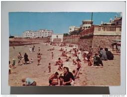 Cadiz Andalucia Spain España Espana Espagne Palma's Balneary Plage Playa Beach 1960 Years Postcard - Cádiz