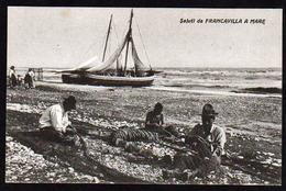 FRANCAVILLA A MARE (province De Chieti) Plan TOP Sur Les Pêcheurs Raccommodant Leurs Filets De Pêche - Chieti