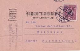 AUTRICHE 1919 CARTE DE CORRESPONDANCE MILITAIRE DE WIEN - 1918-1945 1. Republik
