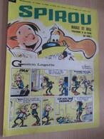 CLI518 : Pour Fans De GASTON LAGAFFE :  COUVERTURE A4 Spirou Années 60 Avec Gag + BOULE ET BILL - Gaston