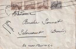 AUTRICHE LETTRE DE VIENNE - 1918-1945 1. Republik