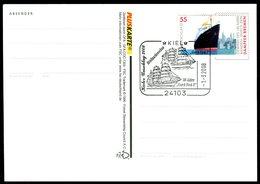 41058) BRD - Karte -  Mi 2412 - SoST 24103 KIEL Vom 09.11.2009 - 50 Jahre Gorch Fock II - BRD