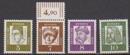 BRD 1961 MiNr.347,348,349,350x ** Postfr.Bedeutende Deutsche ( 6840 )günstige Versandkosten - BRD
