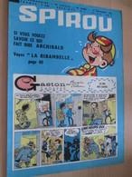 CLI518 : Pour Fans De GASTON LAGAFFE : COUVERTURE A4 Spirou Années 60 Avec Gag + LA RIMBABELLE - Gaston
