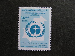 Mauritanie: TB N° 510, Neuf XX. - Mauritania (1960-...)