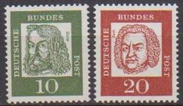 BRD 1961 MiNr.350x,352x ** Postfr.Bedeutende Deutsche ( 6841 )günstige Versandkosten - BRD