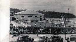 Cpsm(64)--anglet  Chambre D'amour  La Piscine .( Belle Voitures Tra..pha  W  2ch) - Anglet