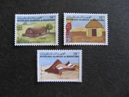 Mauritanie: TB Série N° 510A Au N° 510C, Neufs XX. GT. - Mauritania (1960-...)