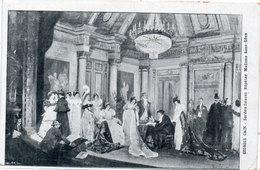 Sardou Faisant Répéter Madame Sans Gène - Machine Chromo-Litho A Vendre - Carte Sur La Carte (107314) - Theatre