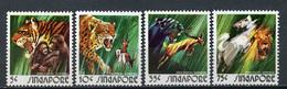 1973 - SINGAPORE  -  Mi. Nr. 205/208 - NH - (CW4755.17) - Singapore (1959-...)