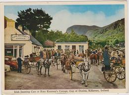 Irlande  Irish Jaunting Cars At Kate Kearney's Cottage,gap Of Dunloe,killarney Ireland Affranchis  9 Juillet 1965 - Kerry