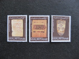Mauritanie: TB Série N° 524 Au N° 526, Neufs XX. - Mauritania (1960-...)