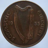 Ireland 1 Penny 1933 VF / XF - Ireland
