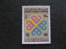Mauritanie: TB N° 527, Neuf XX. - Mauritania (1960-...)