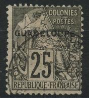Guadeloupe (1891) N 21 (o) - Oblitérés