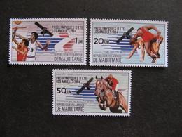 Mauritanie: TB Série N° 535 Au N° 537, Neufs XX. - Mauritania (1960-...)