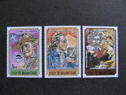 Mauritanie: TB Série N° 538 Au N° 540, Neufs XX. - Mauritania (1960-...)