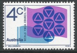 Australia. 1967 World YMCA Council Meeting, Monash University, Melbourne. 4c MNH SG 412 - Mint Stamps
