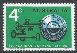 Australia. 1967 150th Anniv Of Australian Banking. 4c MH. SG 410 - Mint Stamps