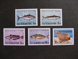 Mauritanie: TB Série N° 541 Au N° 545, Neufs XX. - Mauritania (1960-...)