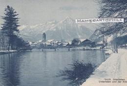 Suisse - INTERLAKEN - Unterseen Und Der NBiesen  - 1909 - BE Berne