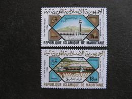 Mauritanie: TB Paire N° 549 Et N° 550, Neufs XX. - Mauritania (1960-...)