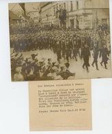 PHOTOS ORIGINALES - 1939 - LITUANIE - KLAIPEDA - Fusiliers Marins Allemands Défilant à MEMEL  - Cliché FRANCE PRESS - War, Military