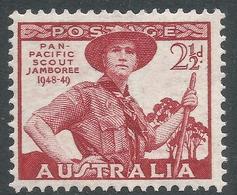 Australia. 1948 Pan-Pacific Scout Jamboree, Wonga Park. 2½d MNH SG 227 - Mint Stamps
