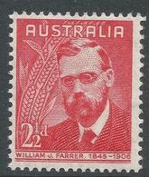 Australia. 1948 William J Farrer Commemoration. 2½d MNH. SG 225 - Mint Stamps