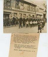 PHOTOS ORIGINALES - 1939 - LITUANIE - KLAIPEDA - Les Nazis De MEMEL Célébrant Le Rattachement Du.. - Cliché FRANCE PRESS - War, Military